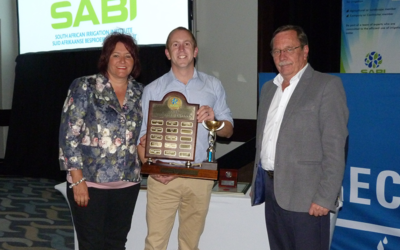 Overberg Agri irrigation designer wins prestigious SABI Award