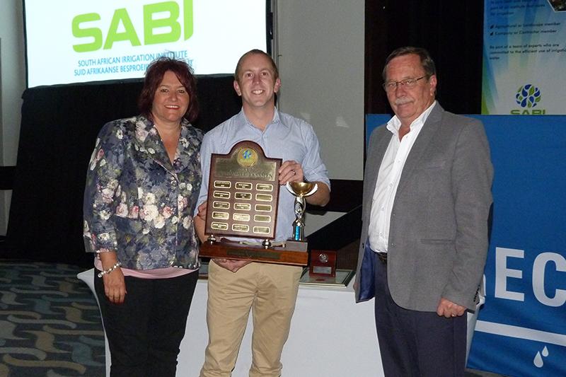 Overberg Agri-besproeiingsontwerper wen gesogte SABI-trofee