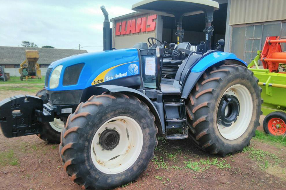 New Holland tractor sale