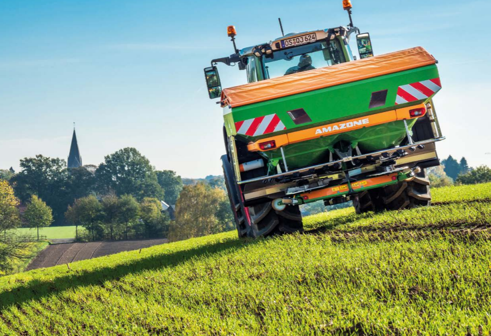 Machine of the month: Amazone ZA-TS mounted spreaders