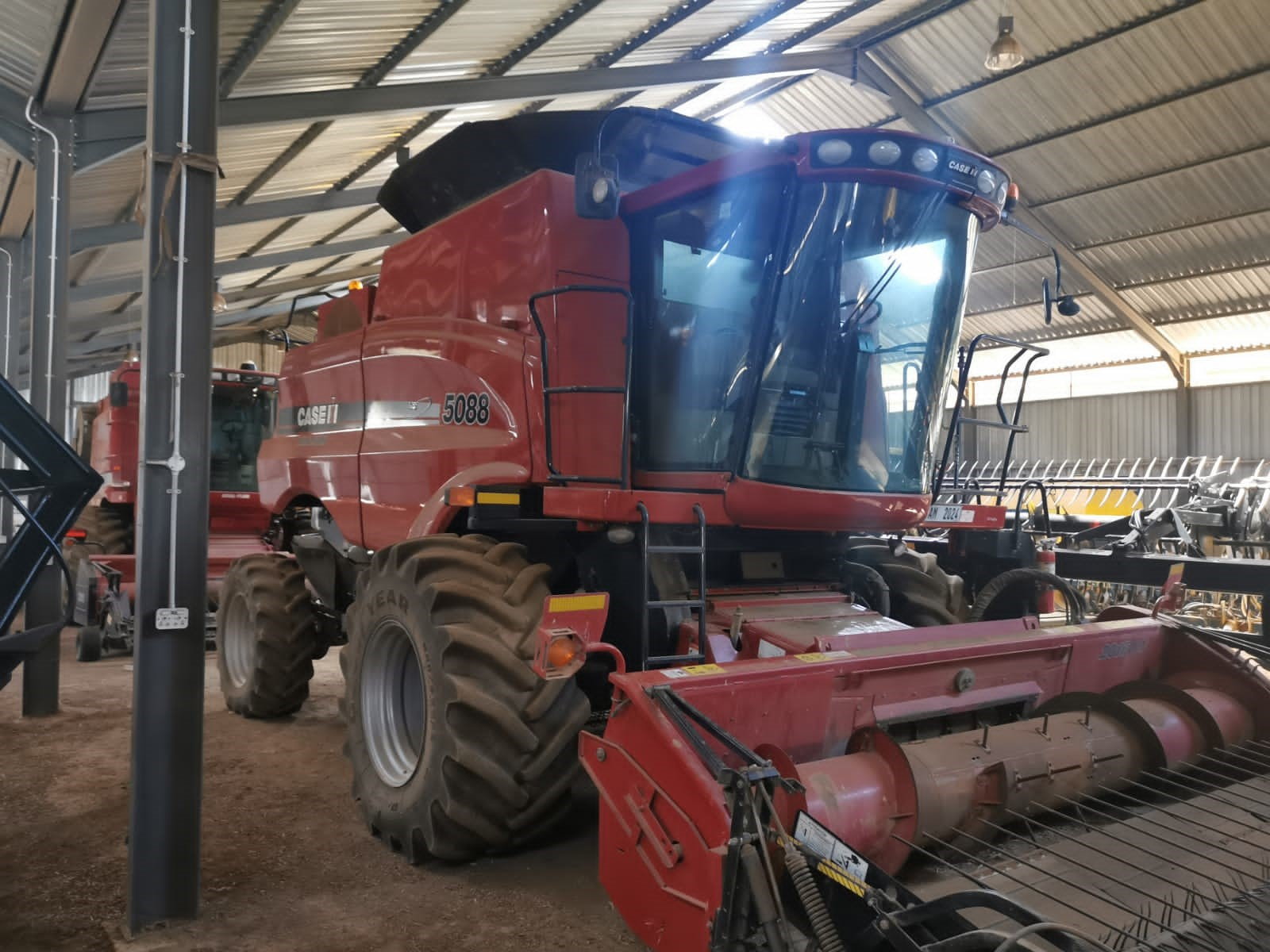 Second Hand Case 5088 Harvester for Sale in Overberg