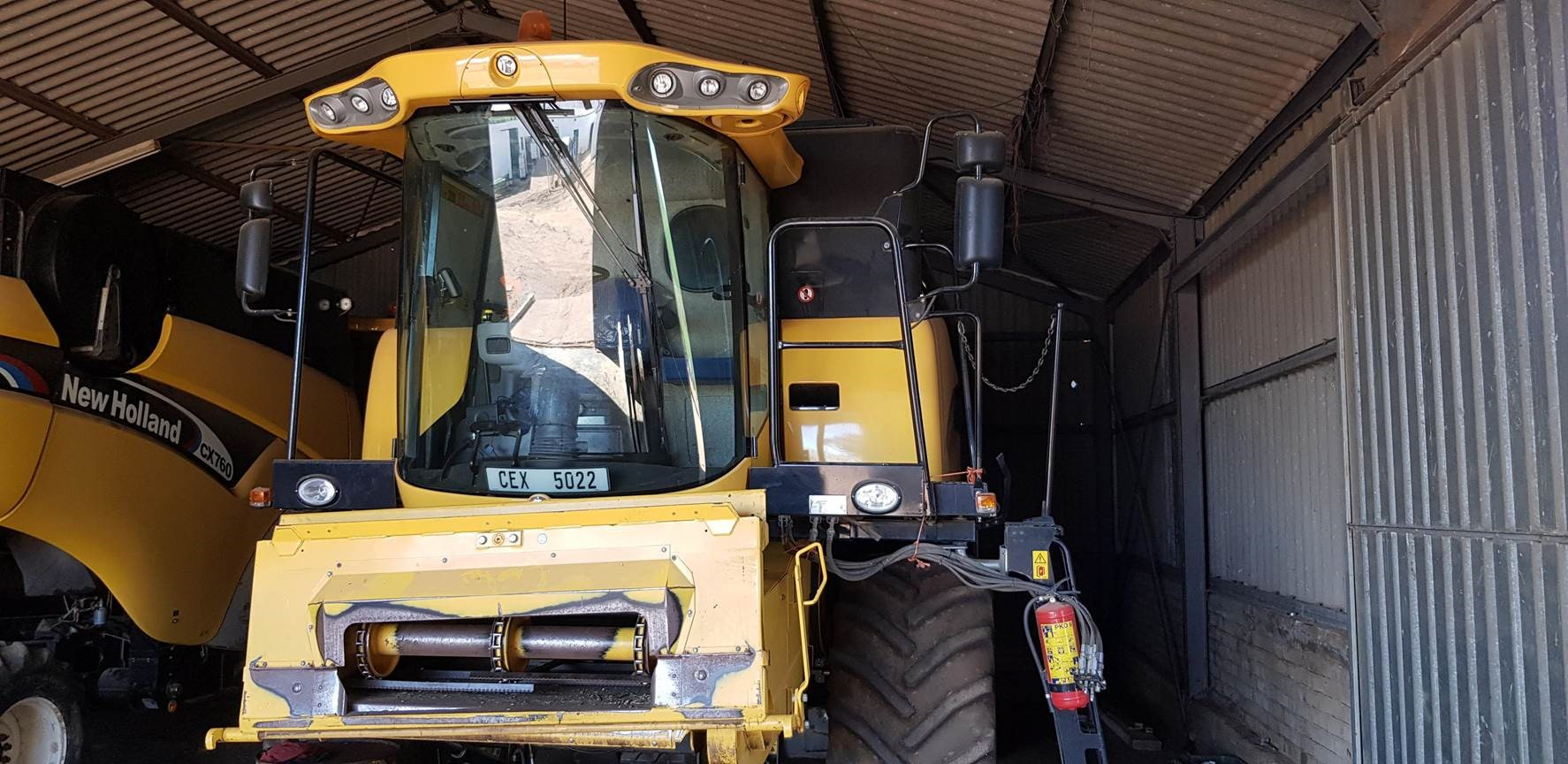 New Holland Used Harvester for sale