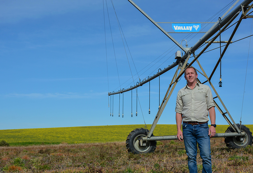 Tian Lourens chat to us about the importance of irrigation equipment maintenance